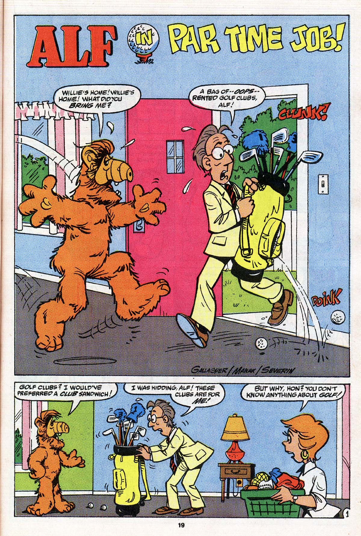 Read online ALF comic -  Issue # _Annual 3 - 18