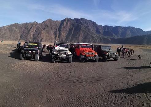 Jip Taman Wisata Gunung Bromo