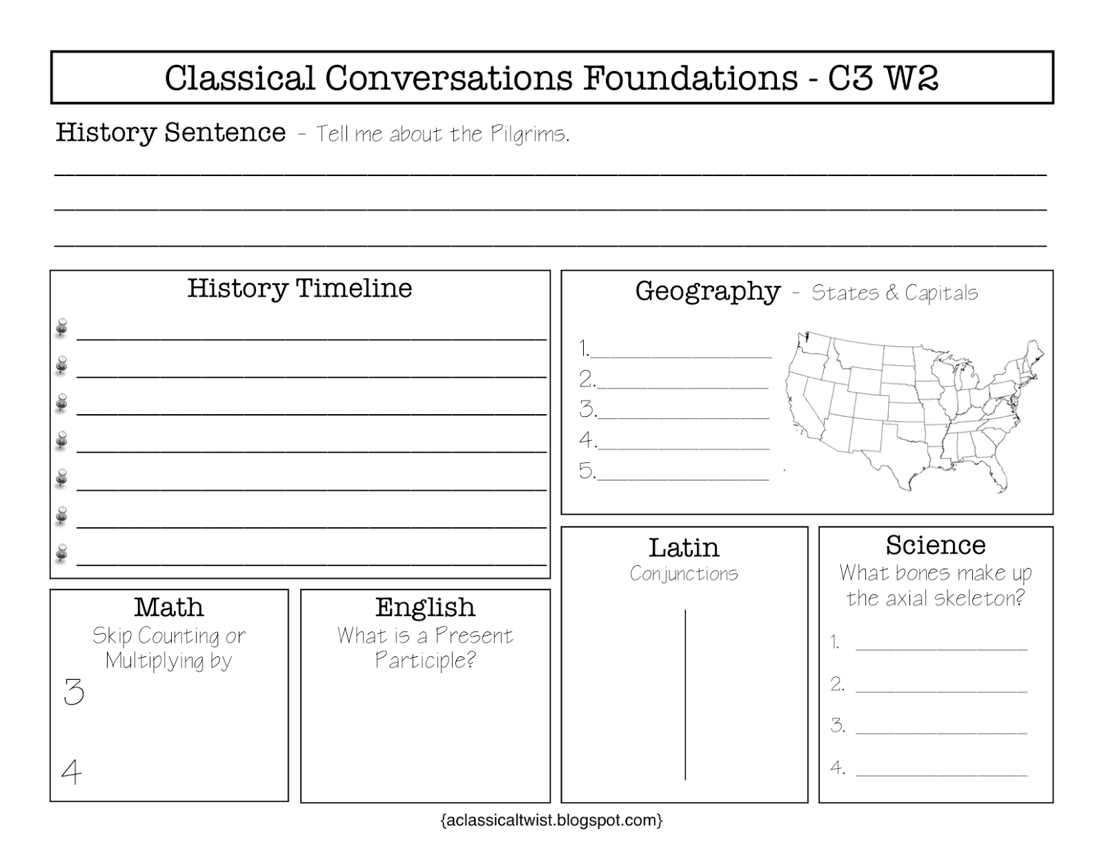 Homeschooling With A Classical Twist Cycle 3 Week 2