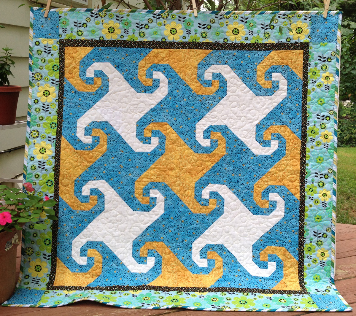 Debby Kratovil Quilts Two New Patterns From Cut Loose Press