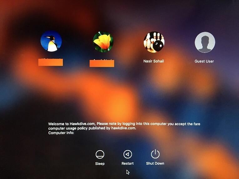 Was ist loginwindow mac
