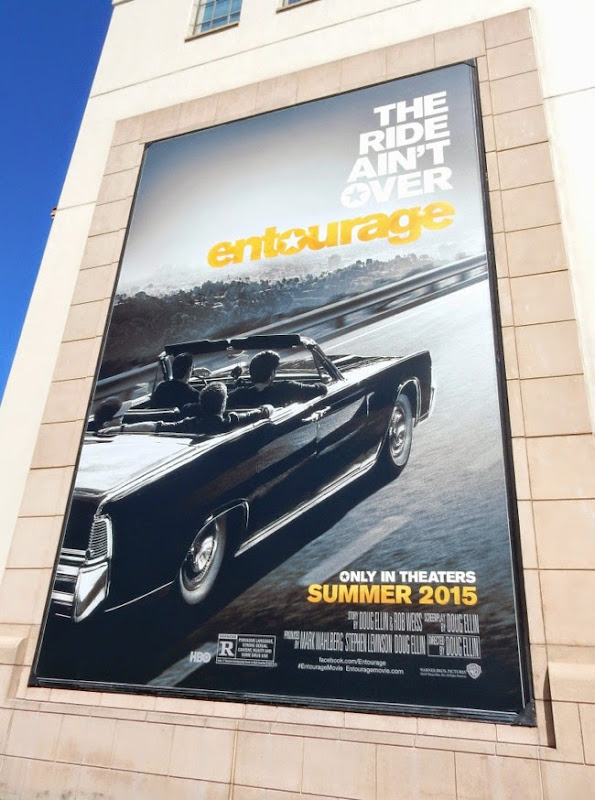Entourage movie teaser billboard