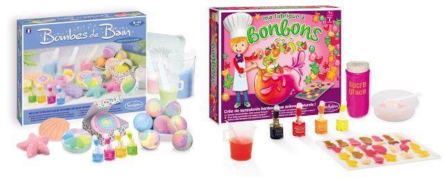 Coffret Bombes de bain et coffret à bonbons Sentosphère