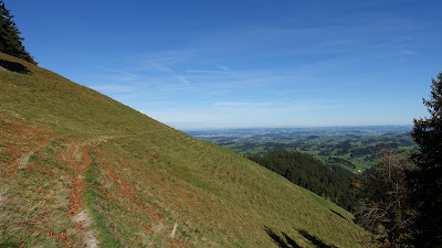 Panoramaweg bei Hinter Scheidegg