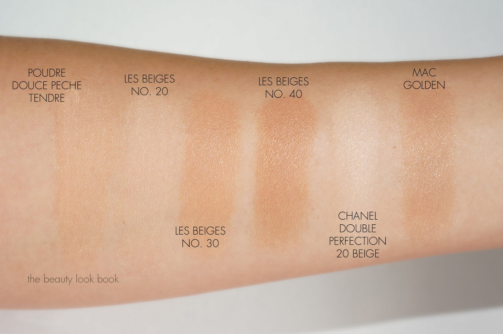 Chanel Les Beiges Comparisons The Beauty Look Book