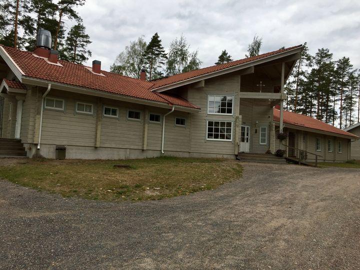 Kokouspaikkana Lankaniemen leirikeskus, Mäntyharjussa