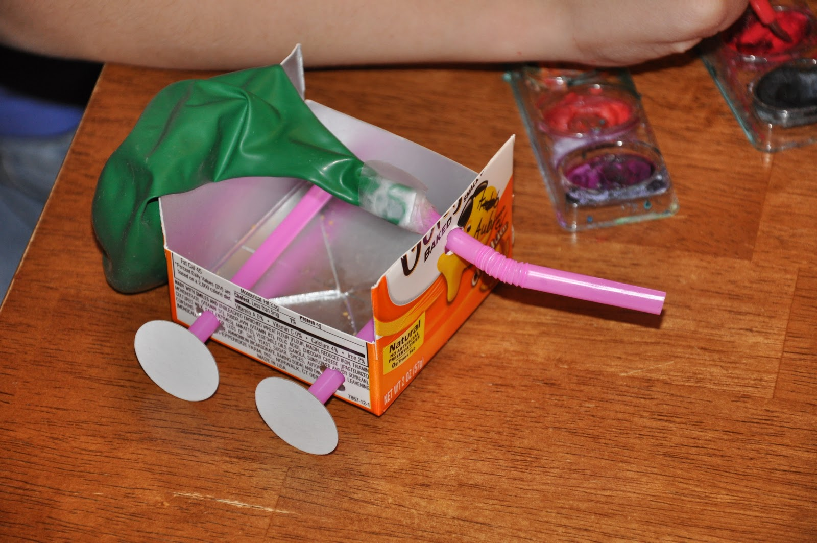Abc Krug Academy Balloon Cars Amp Team Work