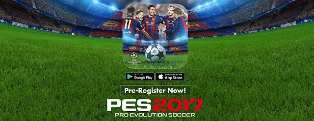 Download PES 2017 Original For Android Full Transper Terbaru