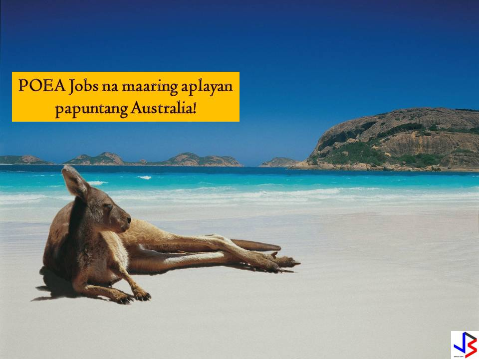 POEA Jobs and Recruitment Agencies for Australia