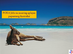 Australia is another country where big salaries await for Filipino workers. Currently, Australia is hiring Filipino workers and this is a good chance for those who are looking for jobs abroad or international employment opportunity.  Australia is in need of the following; welder, metal fabricator, automotive electrician, cattle farmer, meat worker, cook, mechanic, and many others.  The following are latest POEA approved jobs to Australia!  Please reminded that jbsolis.com is not a recruitment agency, all information in this article is taken from POEA job posting sites and being sort out for much easier use.   The contact information of recruitment agencies is also listed. Just click your desired jobs to view the recruiter's info where you can ask a further question and send your application. Any transaction entered with the following recruitment agencies is at applicants risk and account.  This article is filed under Filipino workers, hiring Filipino workers, job posting sites, Australia jobs, local employment, international employment, jobs abroad, jobs near me, and construction jobs.