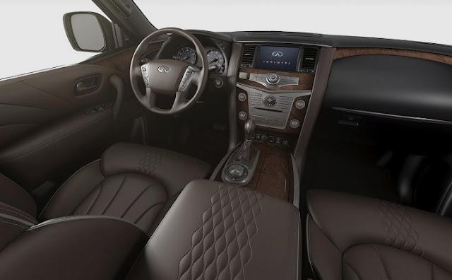 2018 Infiniti QX80 Interior Redesign
