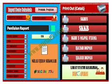 Aplikasi Olah Nilai, Cetak SKKB, SKHU & Ijazah Format Excel