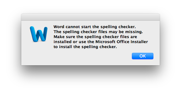 How to Solved The Problem with Word Cannot Start The Spelling