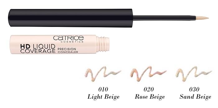 CATRICE HD Liquid Coverage Precision Concealer