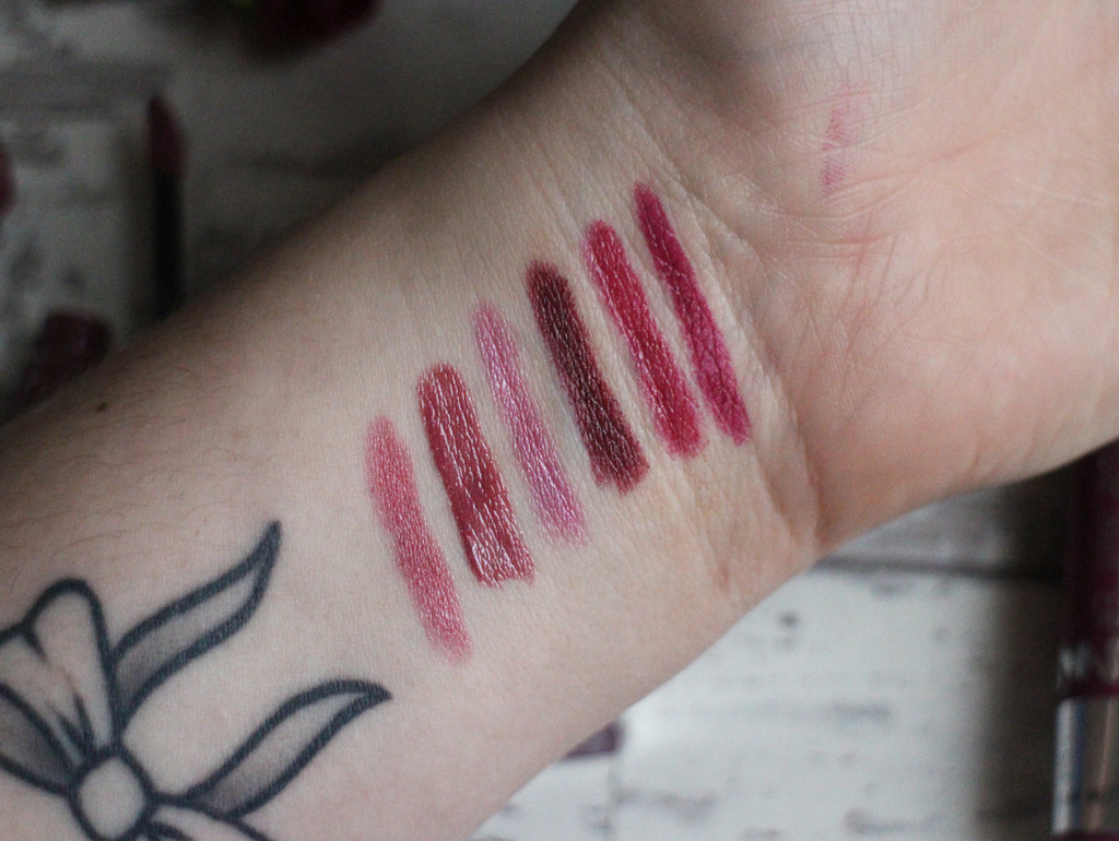 My Most Used Plum Lip Products