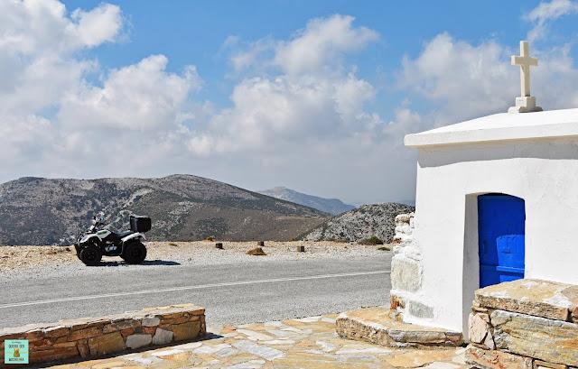 Alquiler de quad en Naxos