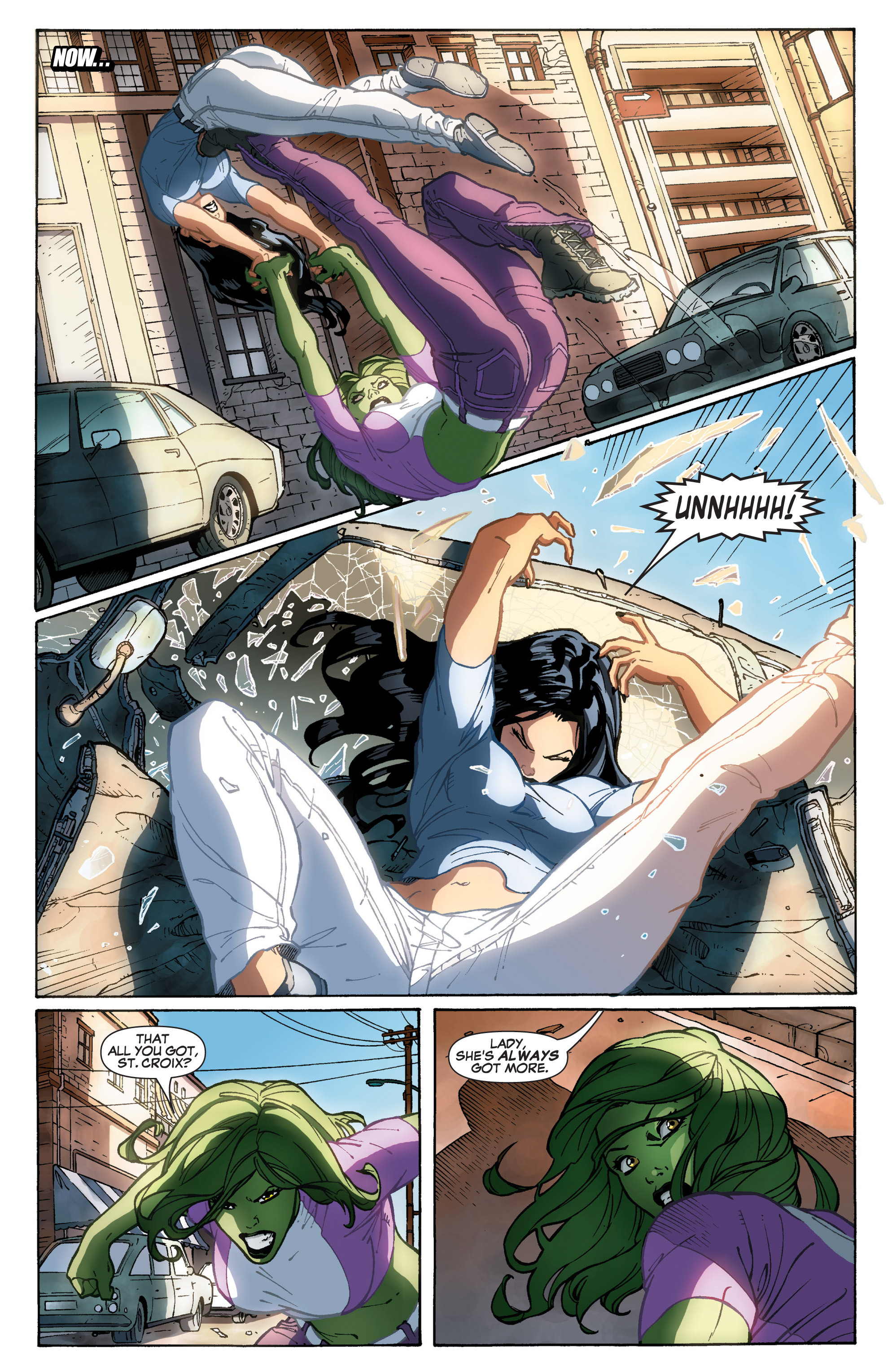 Read online She-Hulk (2005) comic -  Issue #31 - 12