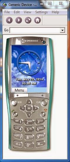 openwave v7 simulator