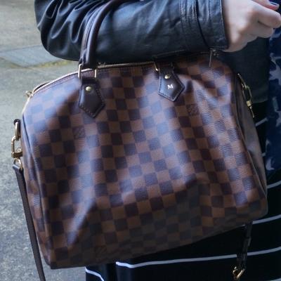 Louis Vuitton Damier Ebene speedy bandouliere 30 | AwayFromBlue