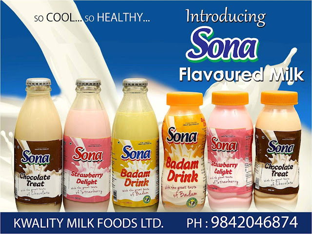 Flavoured Milk  kwality milk foods