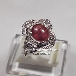 Cincin Lady Batu Ruby Pigeon Blood - ZP 1109