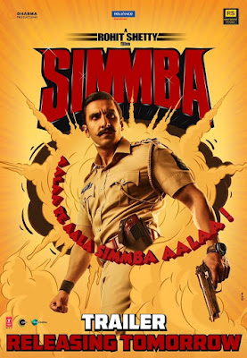 Simmba 2018 Hindi Pre-DVDRip 700Mb x264 New