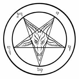 And yet they deny sign language deciphered inverted for Baphomet tattoo meaning