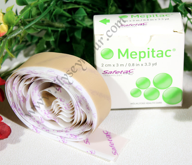 Mepitac Silicon Scar Tape