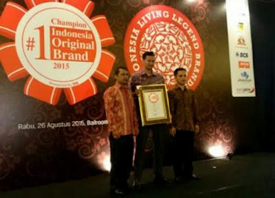 Axioo Meraih Champion of Indonesia Original Brand