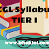 SSC CGL Syllabus 2019 | SSC CGL Tier I Topicwise Questions Distributions