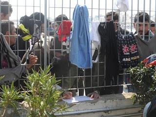 La llegada de los refugiados a Vial
