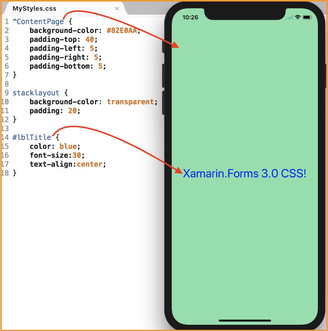 Venky Xamarin Tutorials: Xamarin Forms 3 0 Features: CSS support in Xaml