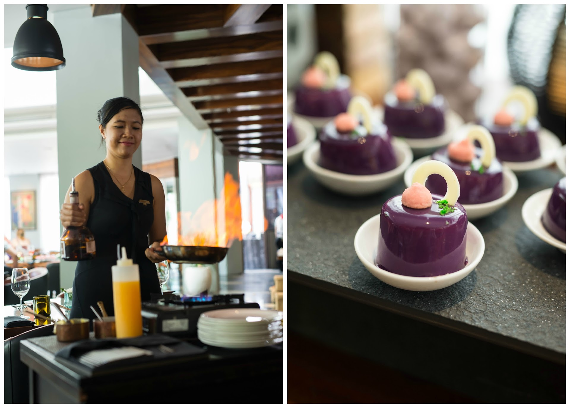 sofitel nusa dua review, best restaurants in bali, what to eat, crepes suzette, french pastries, best buffets in the world, brunch