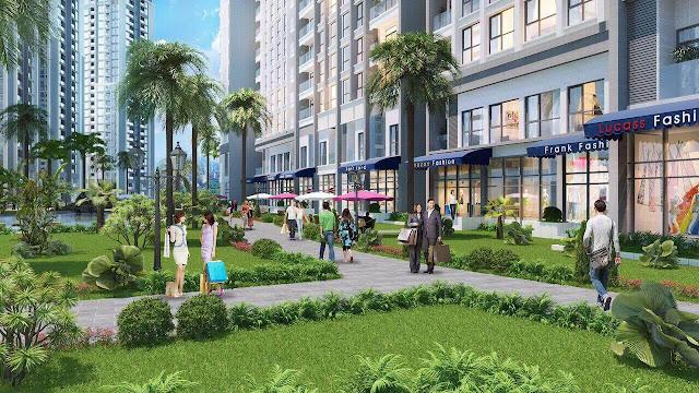Cảnh quan xung quanh dự án Vinhomes Smart City Tây Mỗ