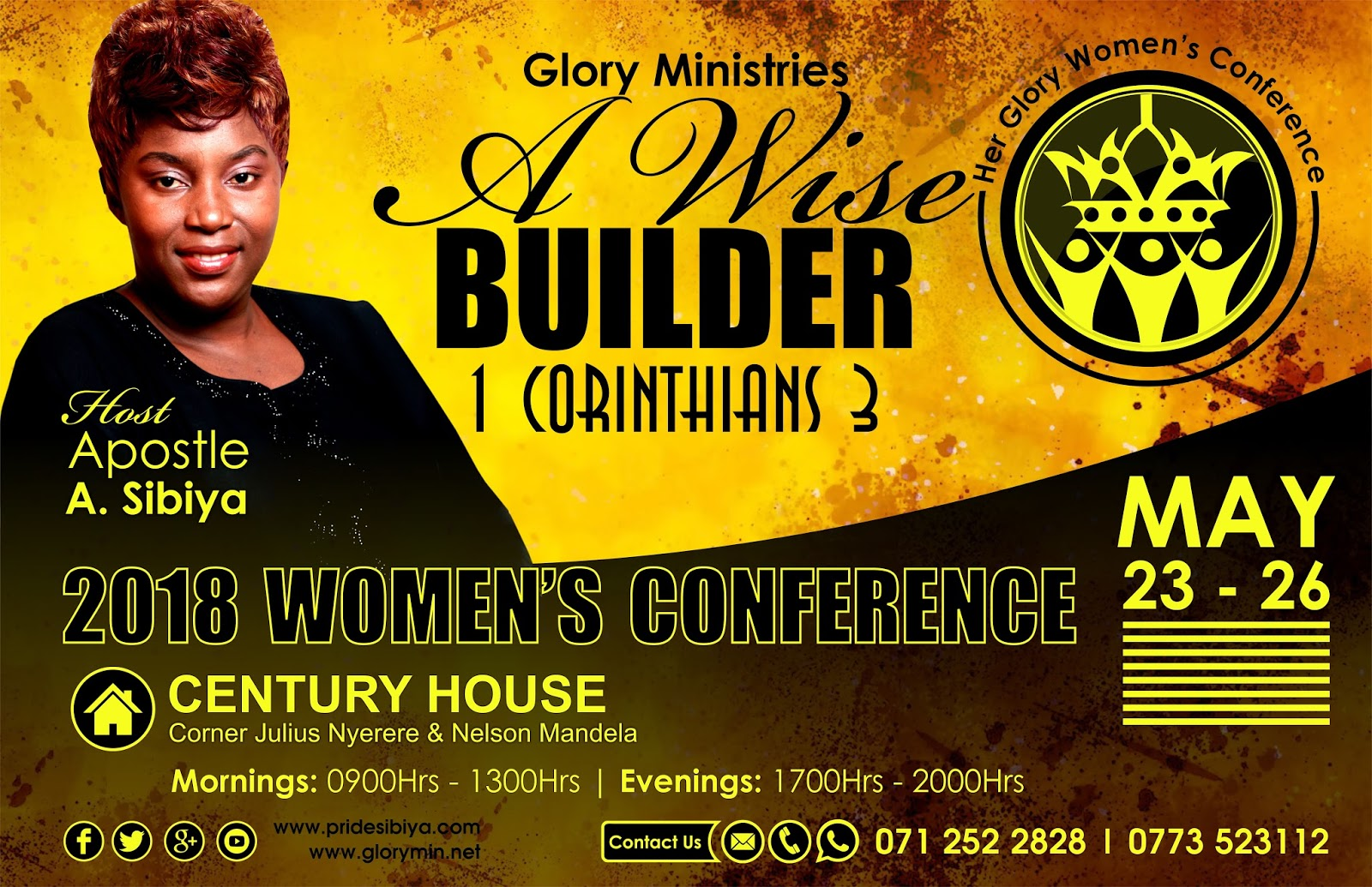 Her Glory Women's Conference with Apostle A. Sibiya