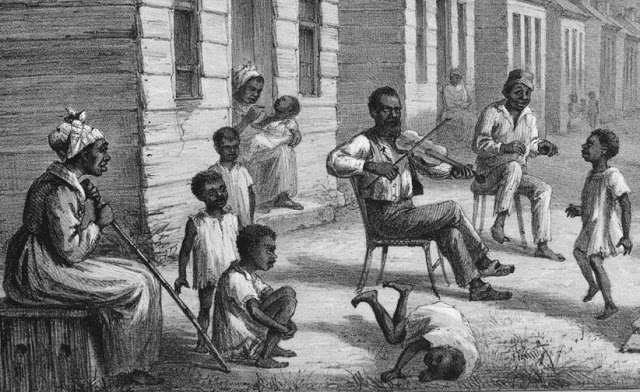 a history of music of the slaves Women's history art, music and film or keyword fulltext search  historical context: facts about the slave trade and slavery trans-atlantic slave voyages.