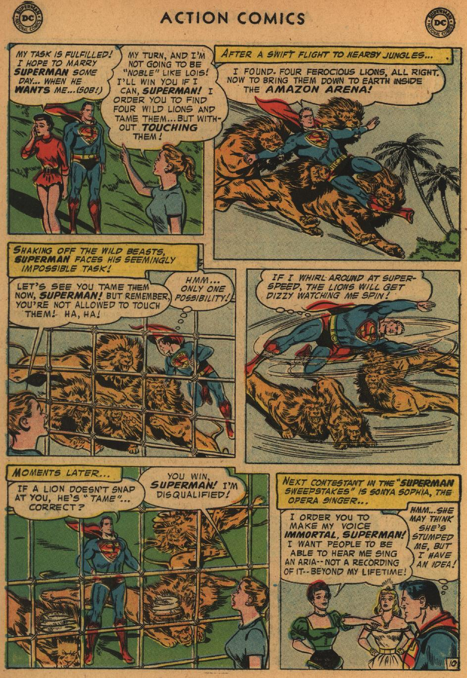 Read online Action Comics (1938) comic -  Issue #235 - 12
