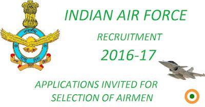 Air force Jobs, Indian Air Force, IAF