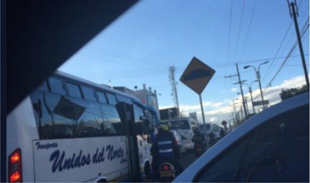 Grave accidente en Fontibón este viernes en la mañana empeora movilidad hacia Sabana Occidente