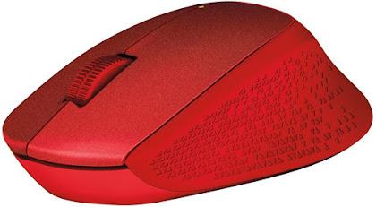 Logitech M330 Silent Plus rojo