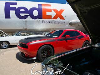 Dodge Challenger TA FedEx Jet
