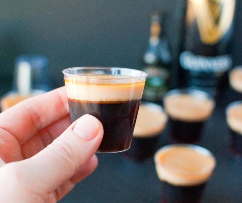 Baby Guinness Jello Shots - food-drink-recipes.com