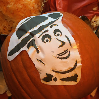disney pixar pumpkin carving template