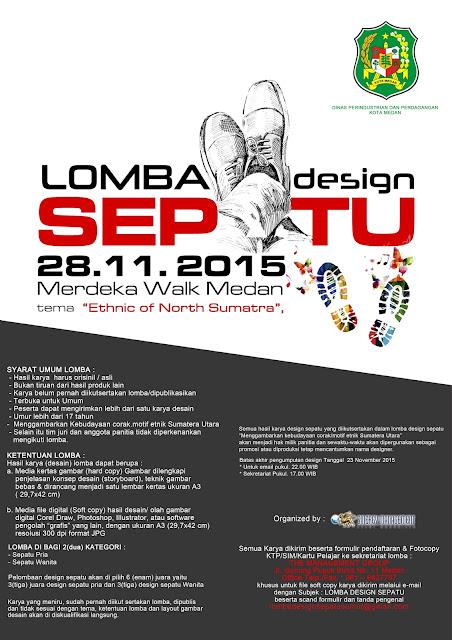 Lomba Design Sepatu