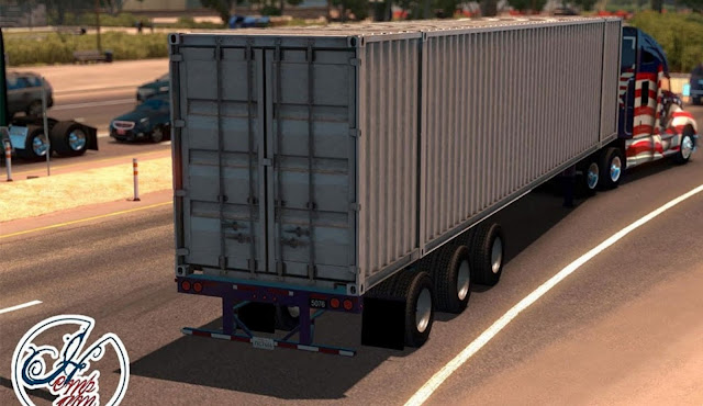 American Truck Simulator New trailer Mod Download MODs