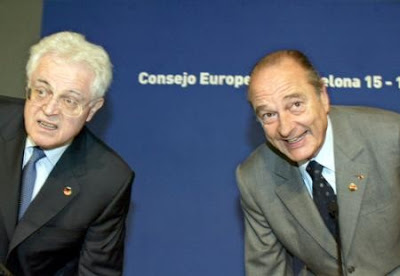 Lionel Jospin y Jacques Chirac