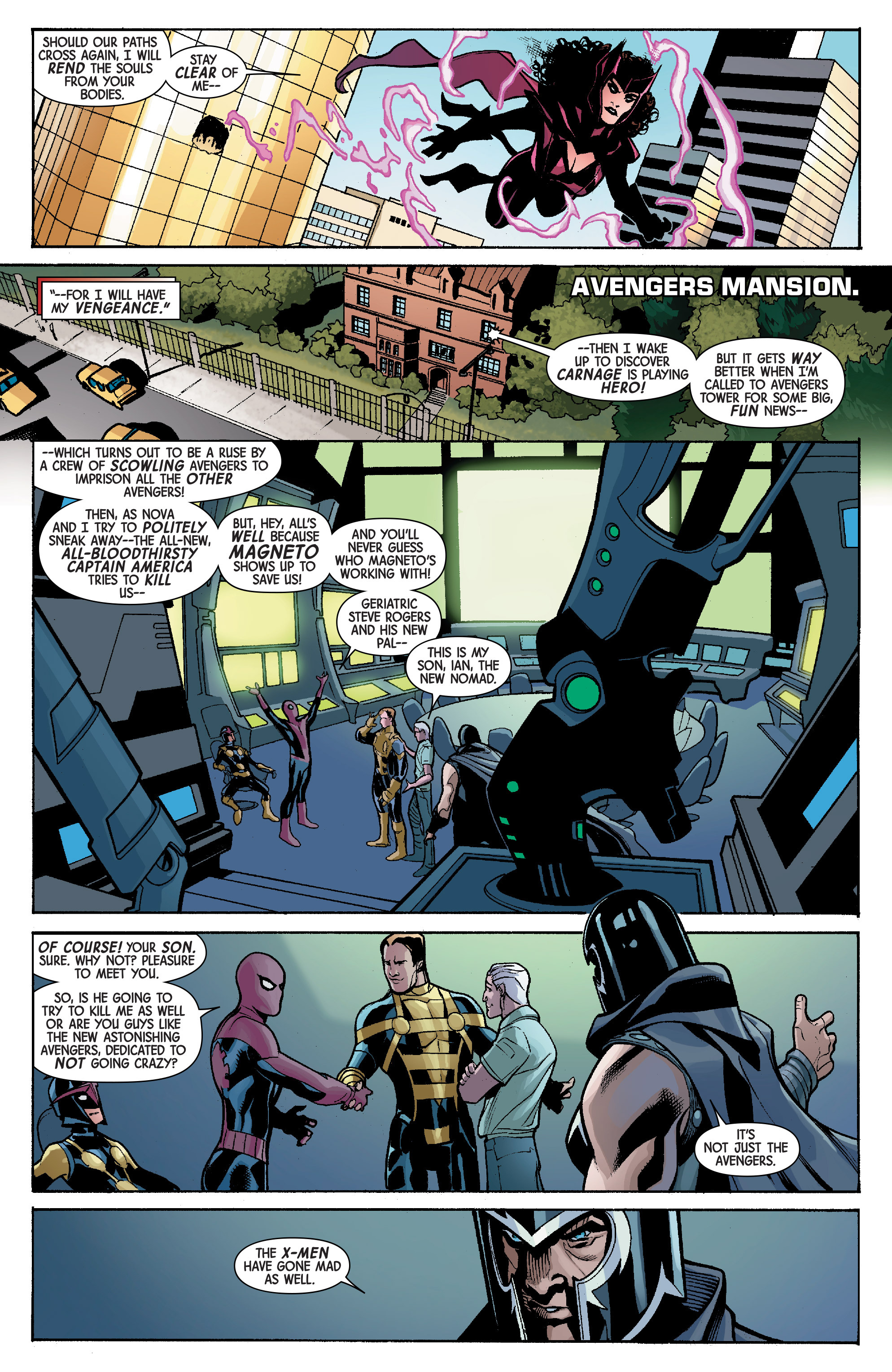 Read online Avengers & X-Men: AXIS comic -  Issue #5 - 13