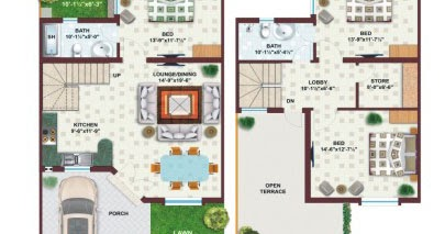 25x45 house plan elevation 3d view 3d elevation house 5 marla house plan 3d