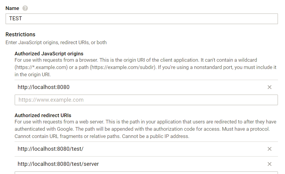 Java blog: Sign in with Google into a web application using the