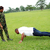 Beautful Pre-wedding photos of a soldier and her husband-to-be